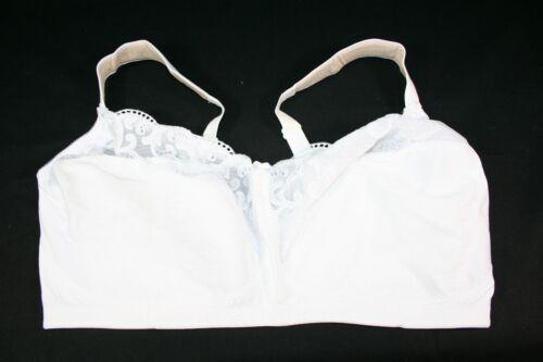 932X08 Glamorise 9810 couverture complète Confort U bustier soutien-gorge 44 F blanc
