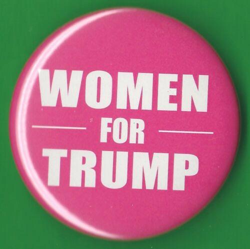 """2020 Donald Trump 2.25/""""// /""""Women For Trump/"""" Presidential Campaign Button Pin 19s"""