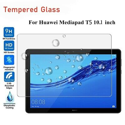 """Genuine Tempered Glass Screen Protector For Huawei MediaPad T5 10 10.1/"""" Inch"""