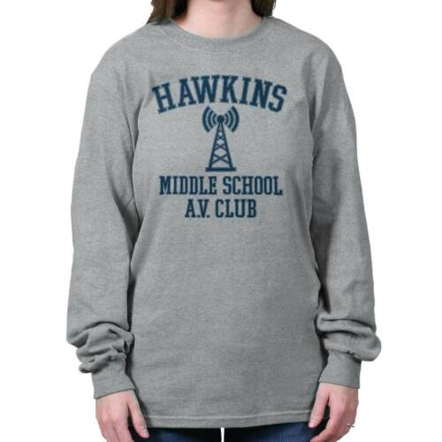 Hawkins Middle School AV Club Eleven Sci-Fi TV Show Gift Long Sleeve TShirt