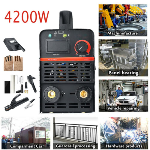 225A 4200W IGBT Inverter LCD Electric ARC MMA Welding Machine Stick Welder 220V
