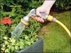 Hozelock Metal Multi Rose Head Gun 2691 Garden Watering 8 Spray Patterns