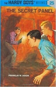 The-Secret-Panel-The-Hardy-Boys-No-25-by-Franklin-W-Dixon