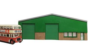OO Gauge Ultra Low Relief Industrial Warehouse / Modern Unit Model Railway Kit