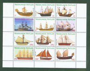 Ndl-Antillen-Dutch-Antilles-2009-Segelschiffe-Sailing-ships-Voiliers-1760-71