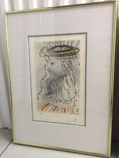"Salvador Dali 1971 ""King Solomon"" Song of Songs of Solomon Suite COA B. Ewell"