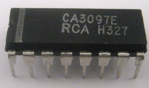 Very Rare Device Nice Experimenter IC RCA CA3097E Thyristor//Transistor Array