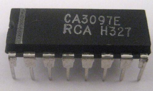 Very Rare Device Nice Experimenter IC RCA CA3097E Thyristor//Transistor Array