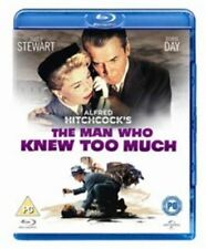 The Man Who Knew Too Much (Blu-ray, 2013)  NEW AND SEALED REGION B