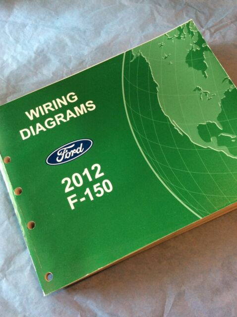 2012 Ford F150 Electrical Wiring Diagram Manual Book