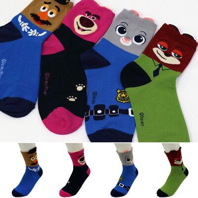 New Disney Zootopia Socks Women Big Kids Judy Flash Nick Friends Cartoon Socks