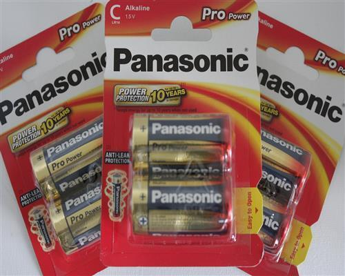 48 Stück Panasonic Baby Pro Power LR14X Batterie