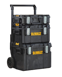 Image Is Loading DeWALT Portable Tool Box Cart Rolling Professional Storage