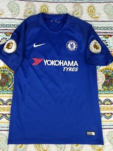 free shipping cde8d 18834 Details about Chelsea FC Nike Air Futbol Club Eden Hazard Soccer Jersey  Mens Sz M 2017