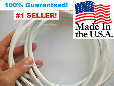 TRIM MOLDING  (made in the USA!) CAR TRUCK SUV DOOR EDGE GUARDS GLOSS WHITE
