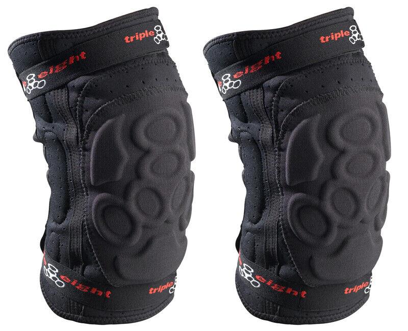 Triple8 Pad Set Exoskin Knee Lg