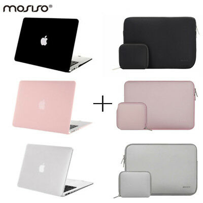 buy popular 552f0 2b0b8 Mosiso Pink Sleeve Cover Case for Macbook Air 13 13.3 Laptop Cases  2012-2017 | eBay