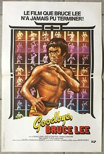 Capable Affiche Goodbye Bruce Lee Pin Lin Bruce Lee Arts Martiaux 40x60cm