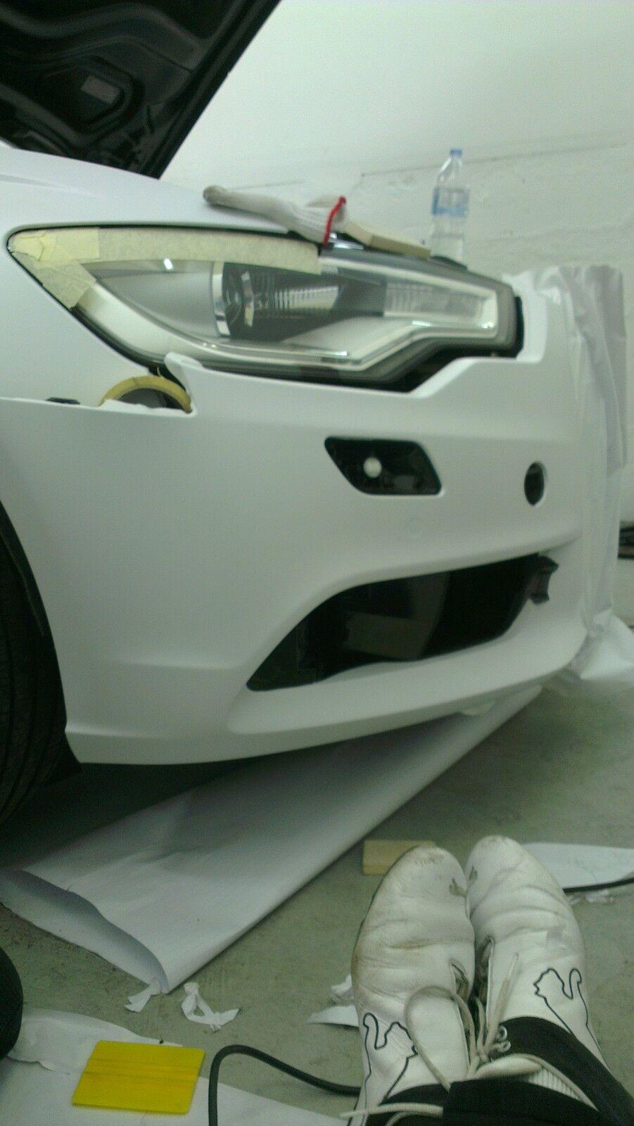 ( m²) PREMIUM BIANCO MATT Premium Premium Premium Auto Car Wrap Pellicola condotti senza bolle f4159d