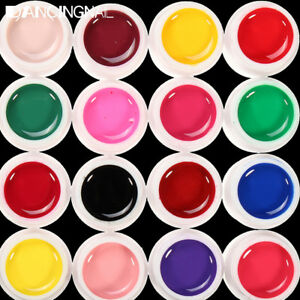 24-Pure-Gel-UV-Colorati-Ricostruzione-Unghie-Nail-Art-Colorati-Manicure-Decora