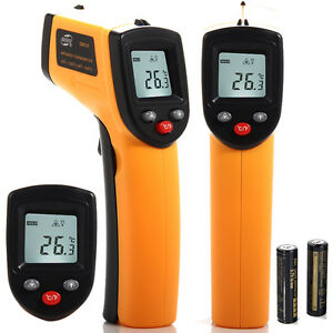 Digital LCD Temperature Gun Non Contact Digital Laser Infrared IR Thermometer