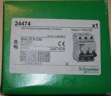Schneider Electric MG24474 Circuit Breaker, Multi 9, C60N, 63A; DIN Rail; 3 Pole