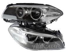 Item 5 BMW SERIES F10 LCI F11 HEADLIGHT BI XENON LEFT RIGHT SIDE GENUINE NEW