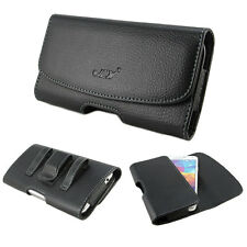 Belt Clip Holster Leather Pouch Case Cover For Samsung Galaxy S3 S4 S5 HTC One X