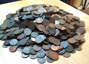 20-Indian-Head-Cent-Penny-Lot-Cull-Junk-Coins-MAKE-AN-OFFER-FREE-SHIPPING