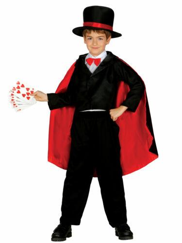 Zauberer-Kostüm für Kinder Cod.238860