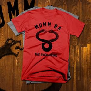 Undead evil sorcerer T-shirt thundercats Mumm Ra Ancient Spirits of Evil new tee