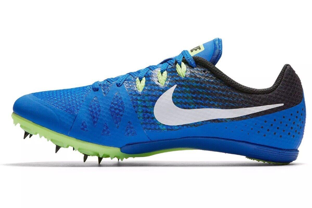 Hombre Nike Zoom zapatillas rival m Pista Spikes zapatillas Zoom 806555-413 Azul / verde cómodo barato y hermoso moda e47770