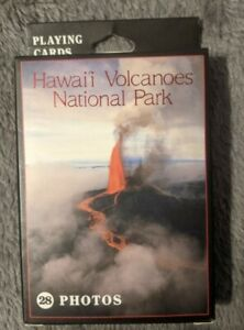 NEW Hawaii Volcanoes National Park Souvenir Photo Playing Cards Deck 28 Images
