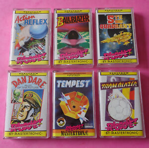 Sinclair-ZX-Spectrum-COLLECTION-of-RICOCHET-GAMES-Mastertronic-48k-128k