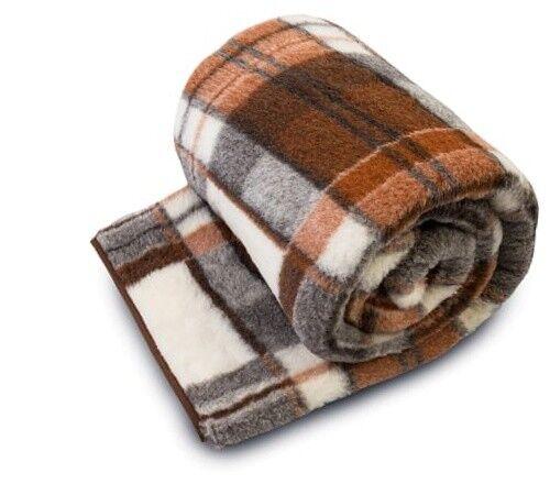 Merino Wolldecke Überwurf 100% Natürlich Bett Alle Größen Woolmark