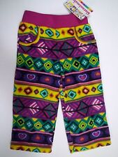 Toddler Girls Garanimals Fleece Pants Colorful Aztec Print Size 5T