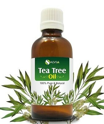 TEA TREE OIL 100% NATURAL PURE UNDILUTED UNCUT ESSENTIAL OIL 5ML TO 1000ML