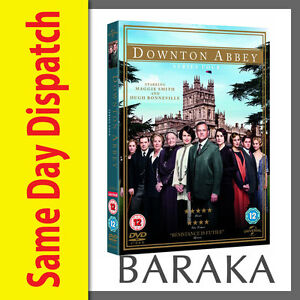 DOWNTON-ABBEY-DOWNTOWN-ABBEY-COMPLETE-SEASON-SERIES-4-DVD-Box-set-R4-new-sealed