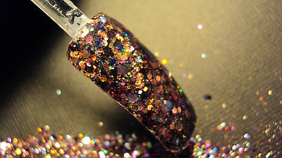 glitter mix acrylic gel nail art  crafts         ALL WOMAN