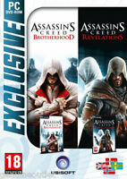 Assassin's Creed Brotherhood & Assassin's Creed Revelations 2 Games For Pc