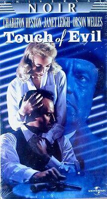 TOUCH OF EVIL - CHARLETON HESTON, JANET LEIGH, O WELLES - VHS TAPE - SEALED  96895507830 | eBay