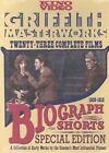 Biograph Shorts Griffith Masterworks 2 Discs DVD NTSC 0