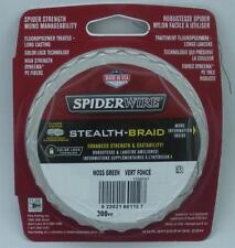 Spiderwire Stealth Braid 80 LB 300 Yards Moss Green 17lb Test Dia