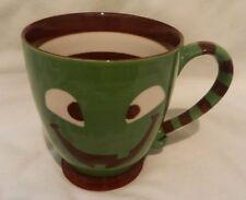 Starbucks 2007 Halloween Pumpkin Jack-o-Lantern Green Monster Mug