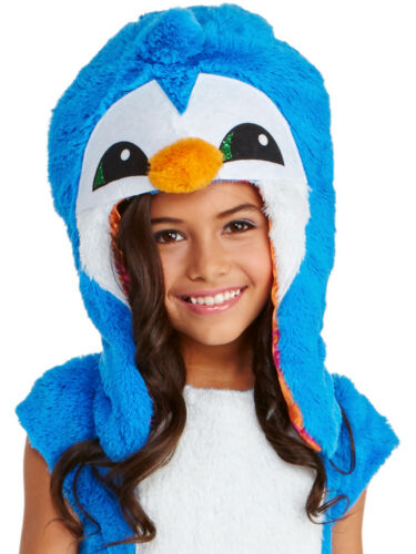 Animal Jam Dancing Clever Penguin Girls Hood One Size Costume Accessory