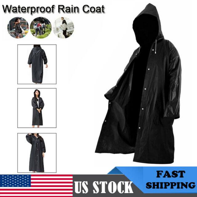Unisex Raincoat Mens Rain Jacket 4 Colors Poncho Unisex Hood Blanket