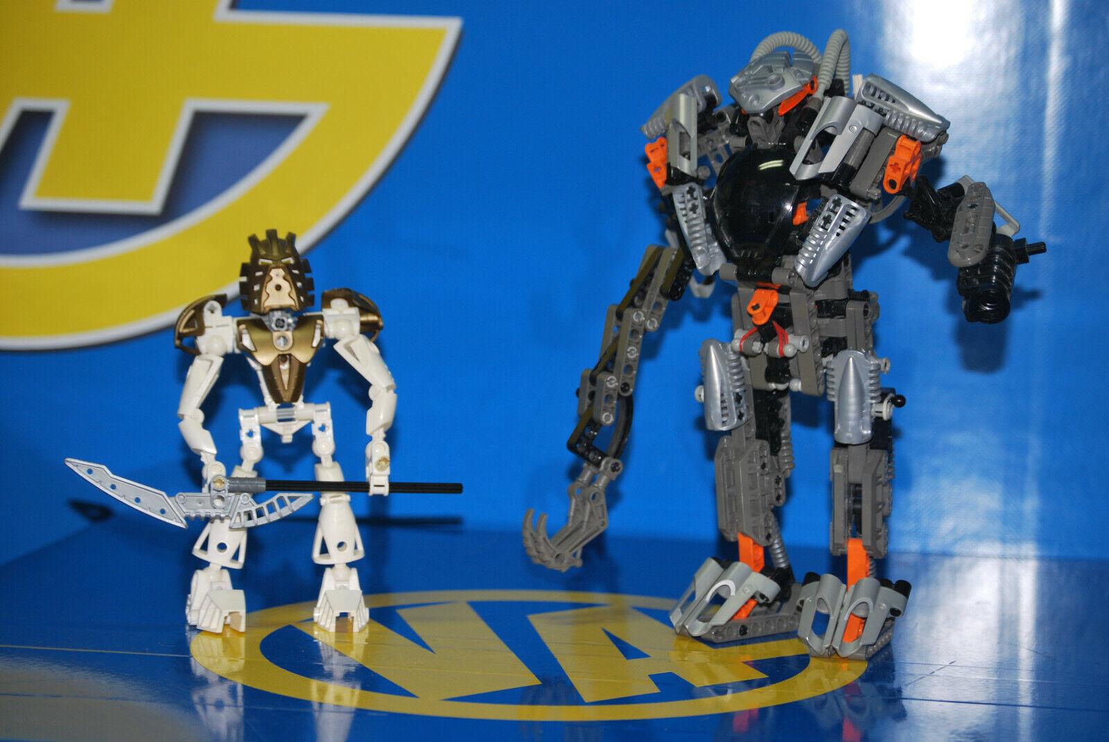 Sammeln - Bionicle  Exo Toa (8557) + Takanuva (7135)