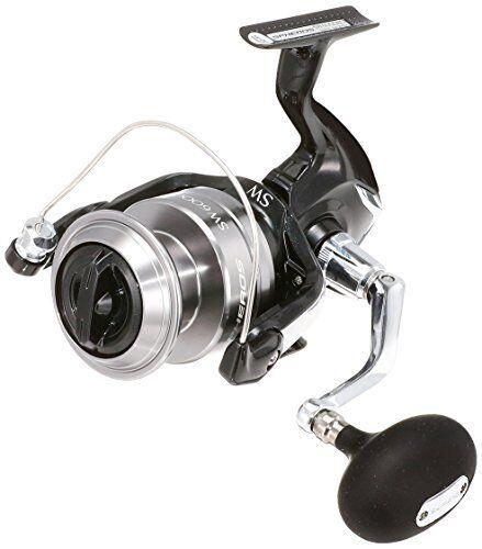 Nuevo Shimano 14 rieles SW 6000 Hg Carrete giratorio para Agua Salada 4969363032768