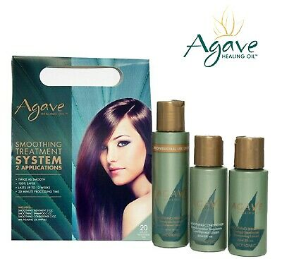 Bio Ionic Agave Smoothing Treatment System Pack 2 Applications | eBay