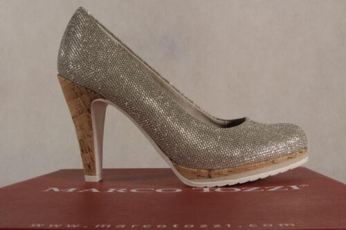 Sole Marco Shoes Interno Ballerina Tozzi Court Gold 22403 Pantofole Nuovo Soft 8RO8UZn